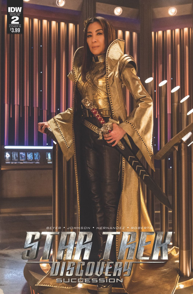 Star Trek: Discovery - Succession #2 (Photo Cover)