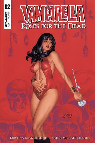 Vampirella: Roses for the Dead #2 (Linsner Cover)