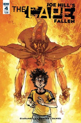 The Cape: Fallen #4 (Howard & Daniel Cover)