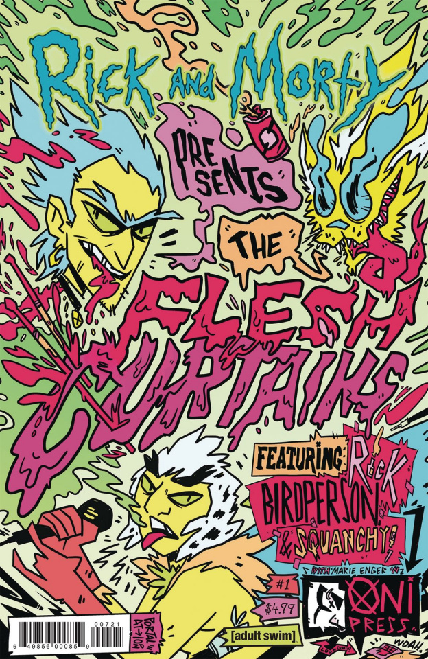 Rick and Morty Present Flesh Curtains #1 (Enger Cover)