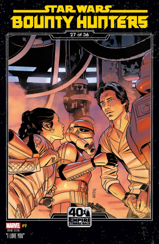 Star Wars: Bounty Hunters #9 (Sprouse Empire Strikes Back Cover)