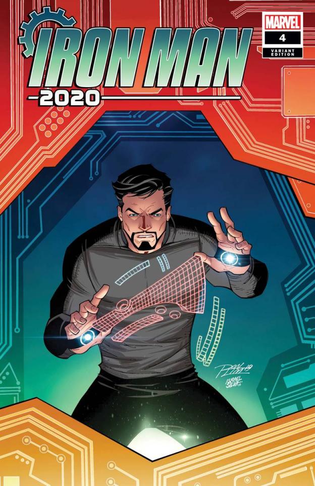 Iron Man 2020 #4 (Ron Lim Cover)