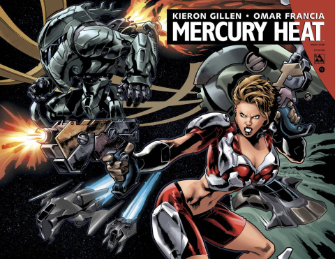 Mercury Heat #3 (Wrap Cover)