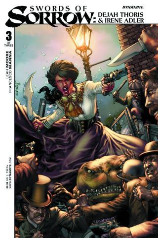 Swords of Sorrow: Dejah Thoris & Irene Adler #3