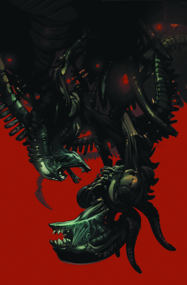 Aliens: Fire and Stone #1 (Staples Cover)