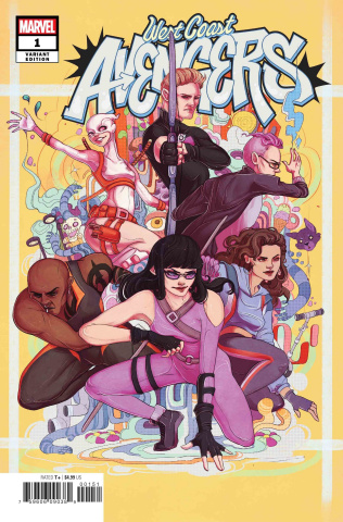 West Coast Avengers #1 (Artist Cover)