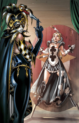 Grimm Fairy Tales: Wonderland - Clash of Queens #3 (Cucca Cover)