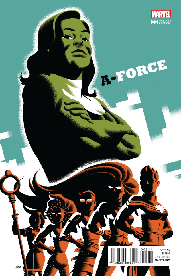 A-Force #3 (Cho Cover)