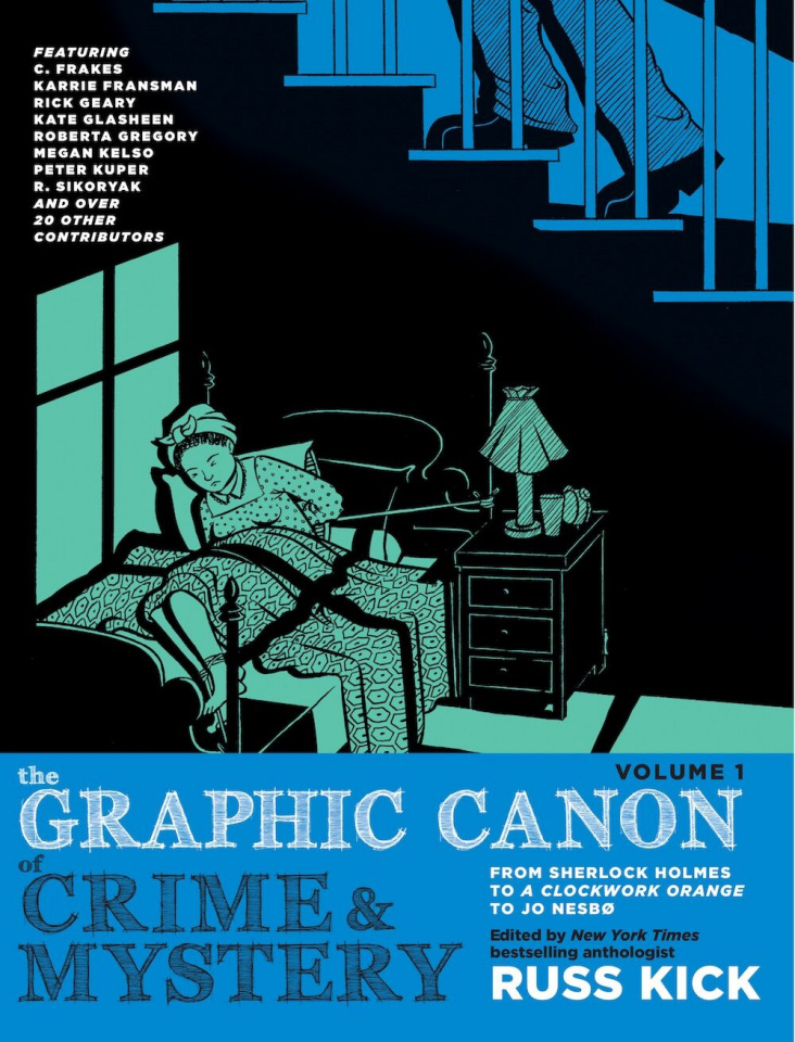 The Graphic Canon of Crime and Mystery Vol. 1