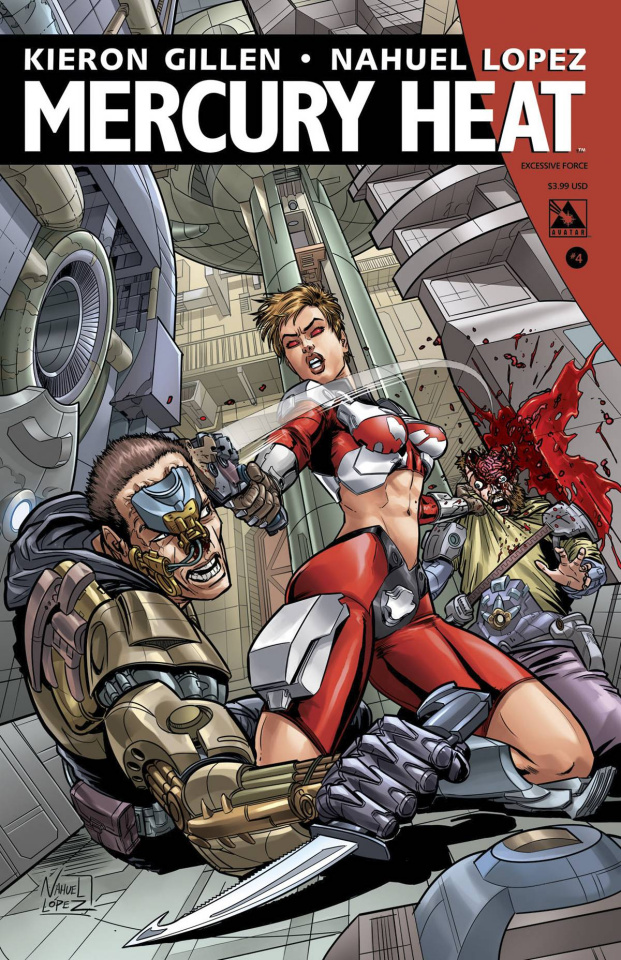 Mercury Heat #4 (Excessive Force Cover)