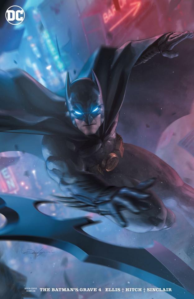 The Batman's Grave #4 (Variant Cover)