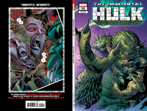 The Immortal Hulk #50 (Pacheco Cover)