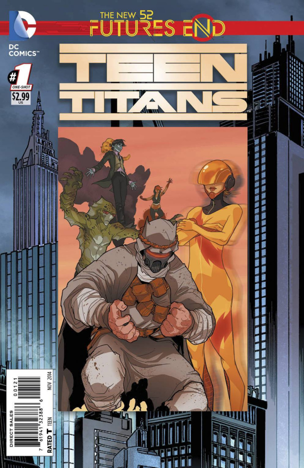 Teen Titans: Future's End #1 (Standard Cover)