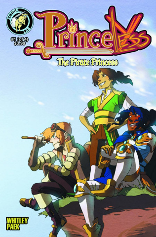 Princeless: The Pirate Princess #1 (Paek Cover)