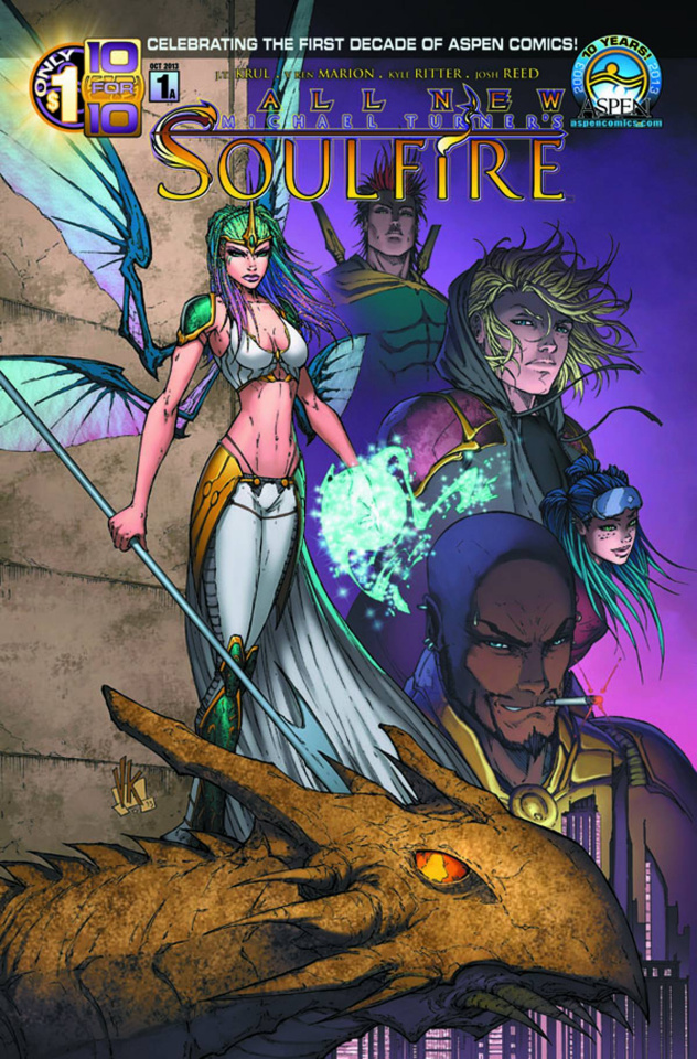 All New Soulfire #1 (Direct Market Cover)