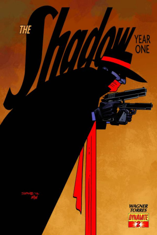 The Shadow: Year One #2 (Samnee Cover)