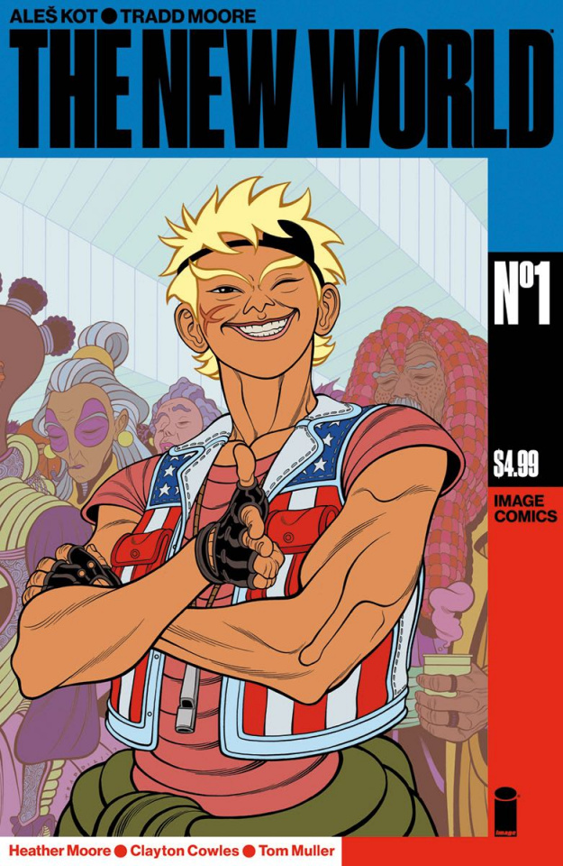 The New World #1 (Moore & Muller Cover)