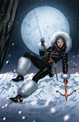 Grimm Fairy Tales: Van Helsing vs. The Werewolf #2 (Chen Cover)
