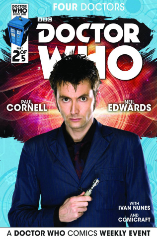 Doctor Who: Four Doctors #2 (Subscription Photo Cover)
