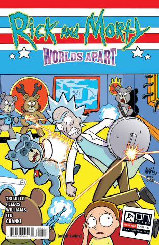 Rick and Morty: Worlds Apart #4 (Fleecs Cover)