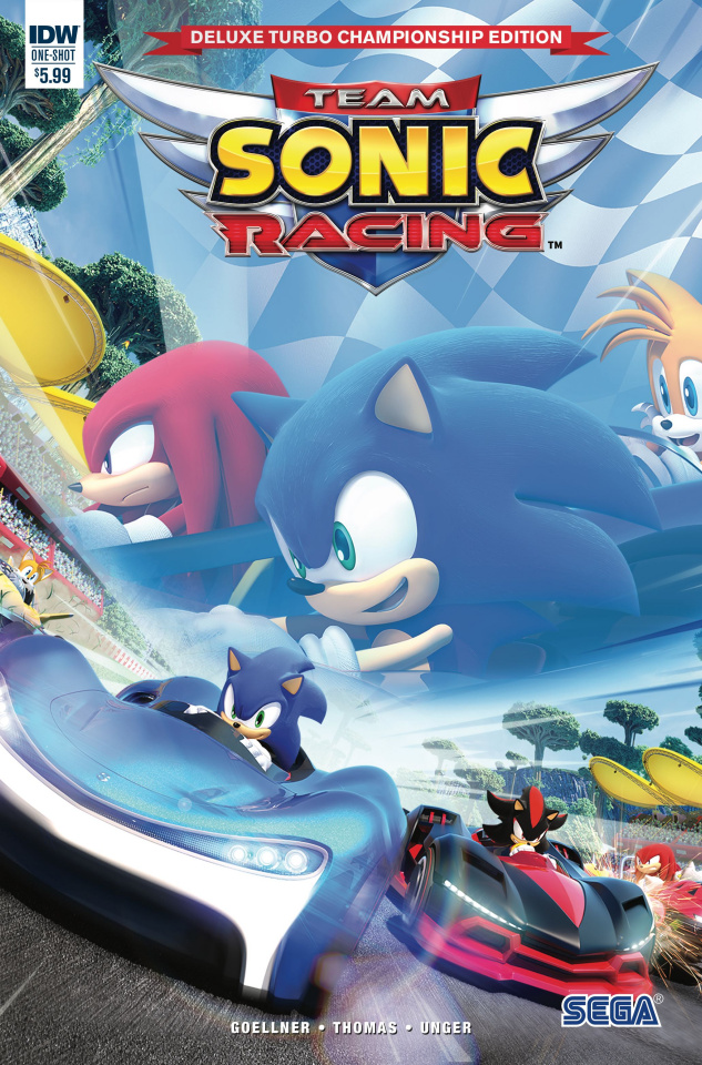 Team Sonic Racing (Deluxe Turbo Championship Edition)