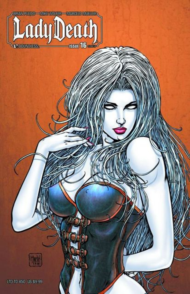 Lady Death #16 (Close Up Cover)