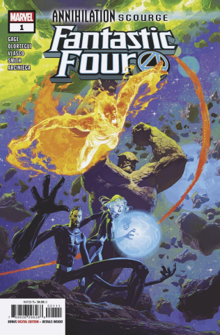Annihilation: Scourge - Fantastic Four #1
