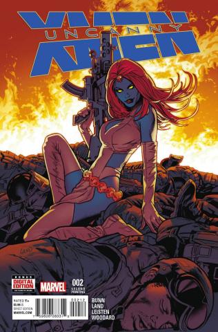 Uncanny X-Men #2 (Land 2nd Printing)