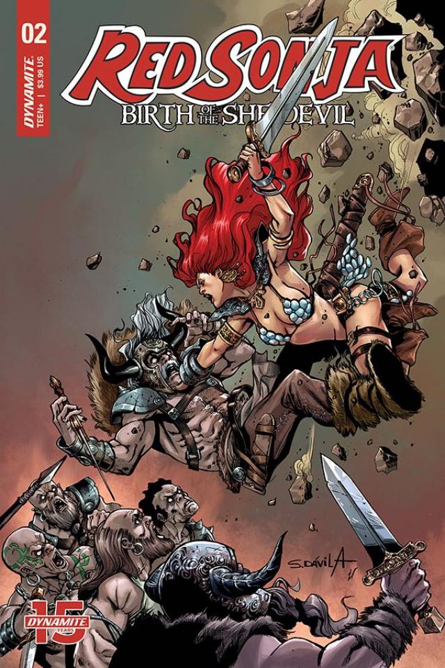 Red Sonja: Birth of the She-Devil #2 (Davila Cover)