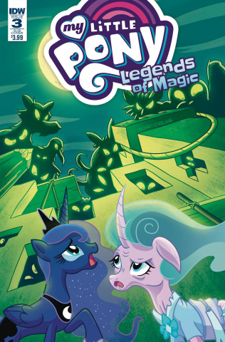 My Little Pony: Legends of Magic #3 (Subscription Cover)