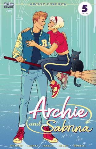 Archie #709 (Archie & Sabrina Ganucheau Cover)