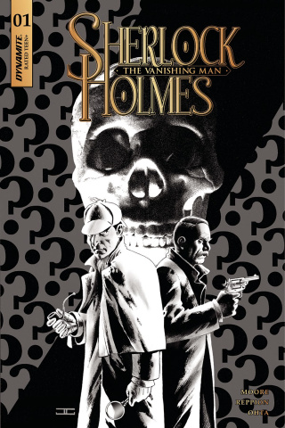 Sherlock Holmes: The Vanishing Man #1 (20 Copy Cassaday B&W Cover)