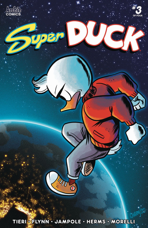 Super Duck #3 (Charm Cover)