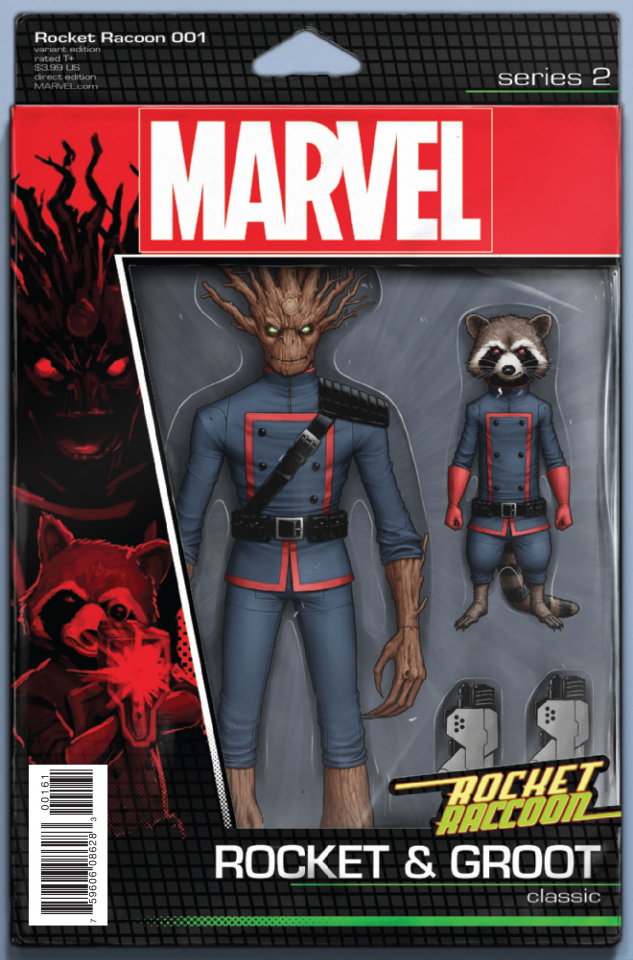 Rocket Raccoon #1 (Christopher Action Figure Cover)