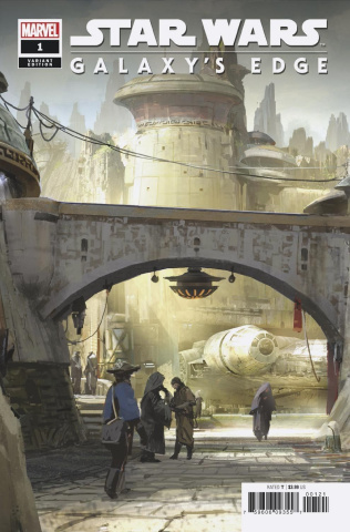 Star Wars: Galaxy's Edge #1 (Attraction Cover)