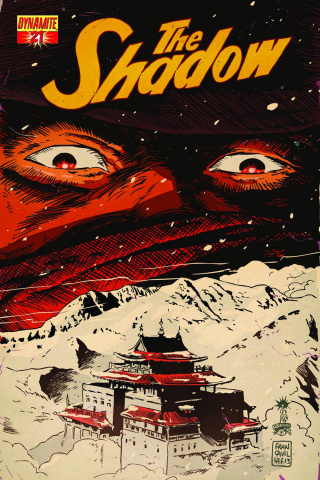 The Shadow #21 (Calero Cover)