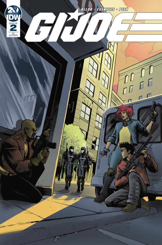 G.I. Joe #2 (10 Copy Moline Cover)