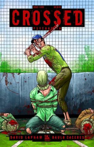 Crossed: Psychopath #1 (C2E2 Cover)