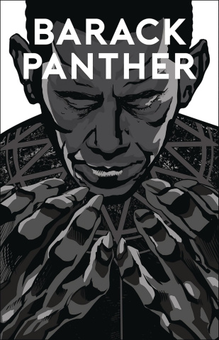 Barack Panther #1 (Silver Screen Cover)