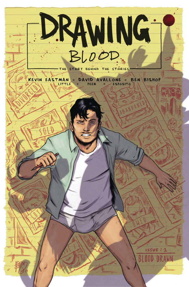 Drawing Blood: Spilled Ink #1 (Bishop Cover)