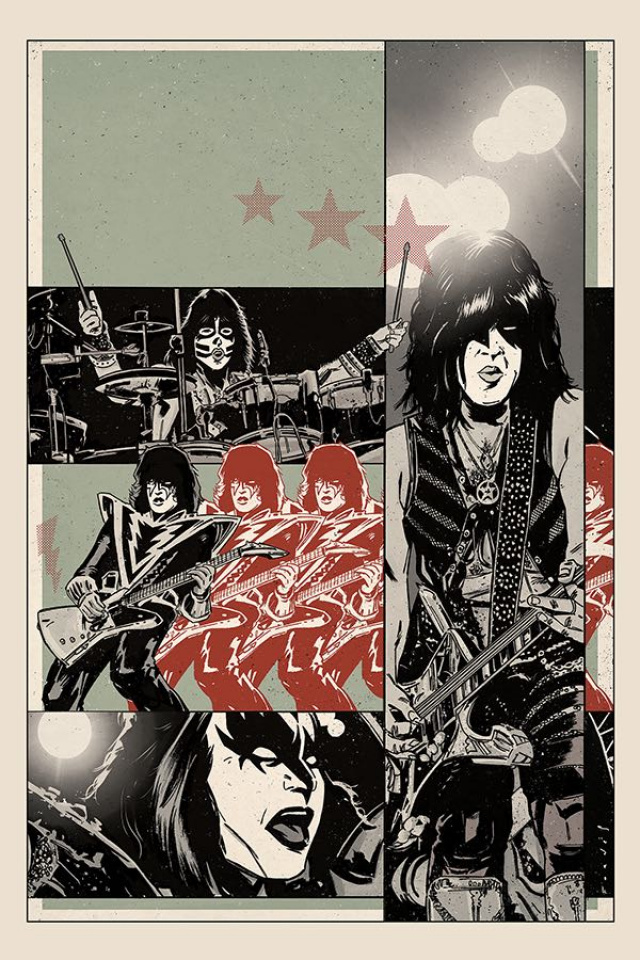 KISS: The End #5 (20 Copy Fornes Virgin Cover)