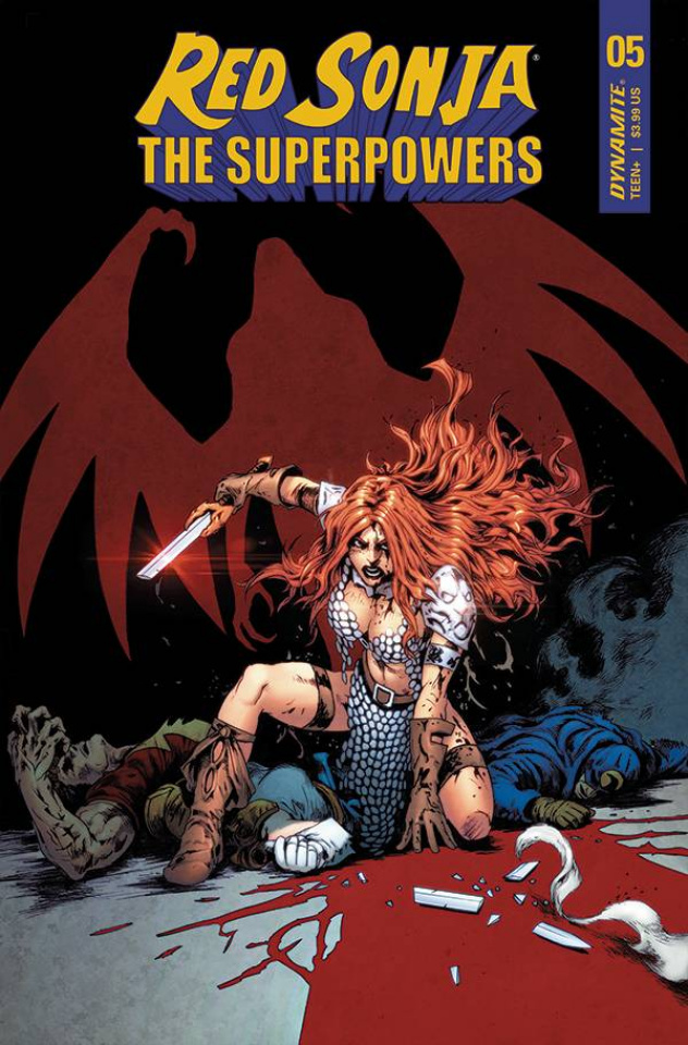 Red Sonja: The Superpowers #5 (LauCover)