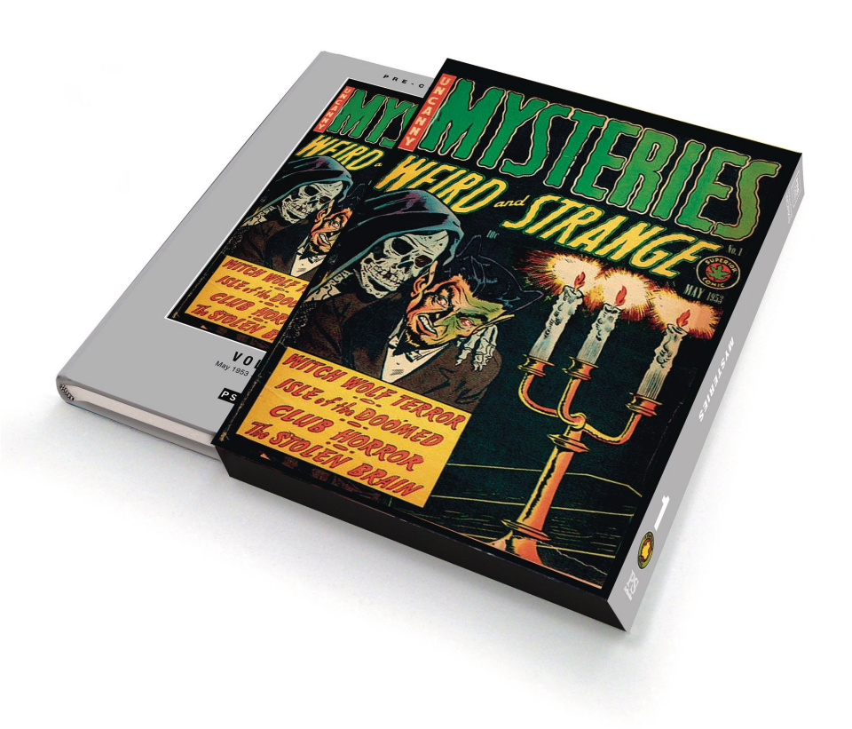 Uncanny Mysteries: Weird and Strange Vol. 1 (Slipcase Edition)