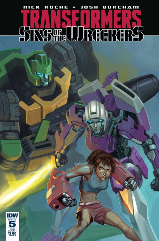 The Transformers: Sins of the Wreckers #5 (Subscription Cover)