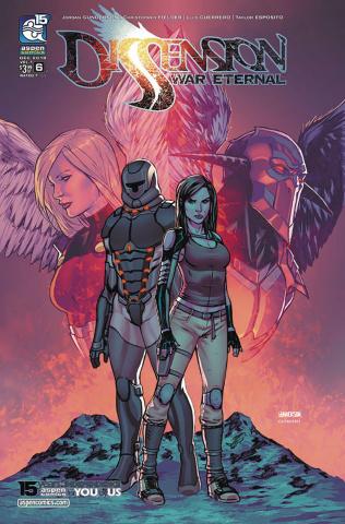 Dissension: War Eternal #6 (Gunderson Cover)