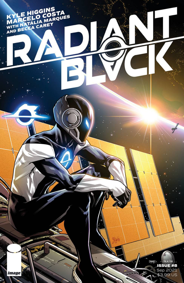 Radiant Black #8 (Carlos Cover)