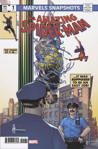 Marvels Snapshot: Spider-Man #1 (Chaykin Cover)