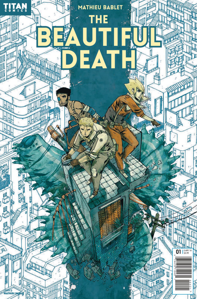 The Beautiful Death #1 (Bablet Cover)