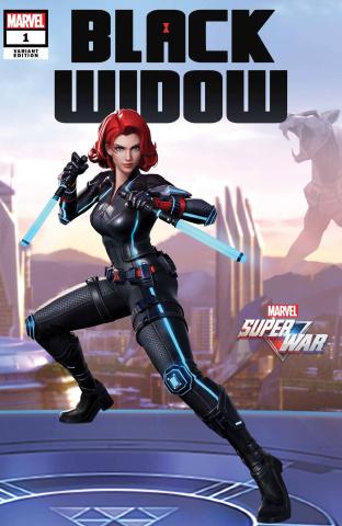 Black Widow #1 (Marvel Super War Cover)