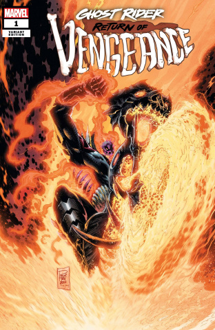 Ghost Rider: Return of Vengeance #1 (Tan Cover)